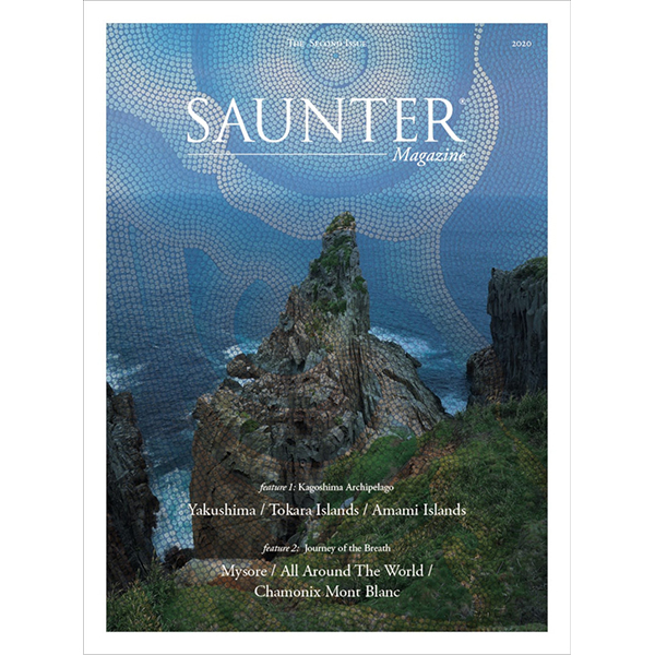 「SAUNTER Magazine Vol.02」掲載