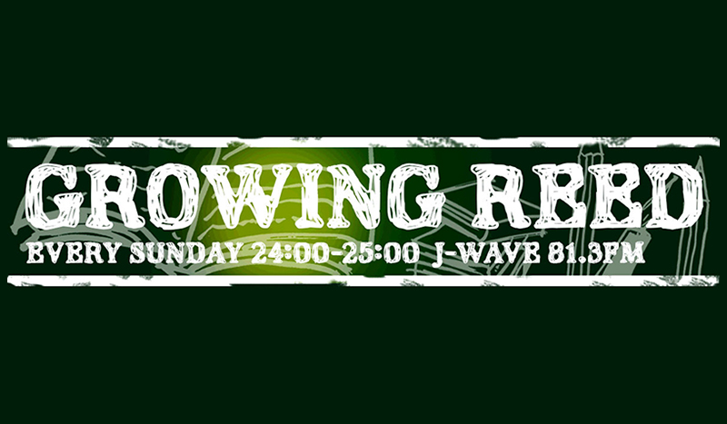 J-WAVE「GROWING REED」出演